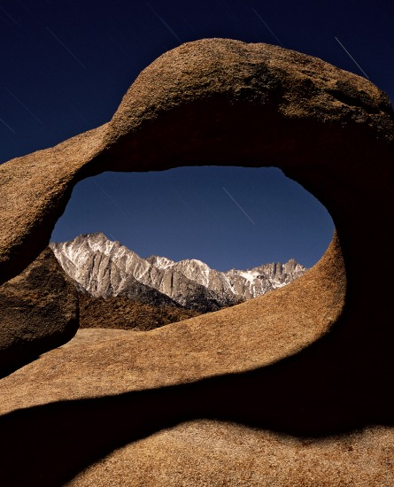 Mt. Lone Pine and Mt. Whitney